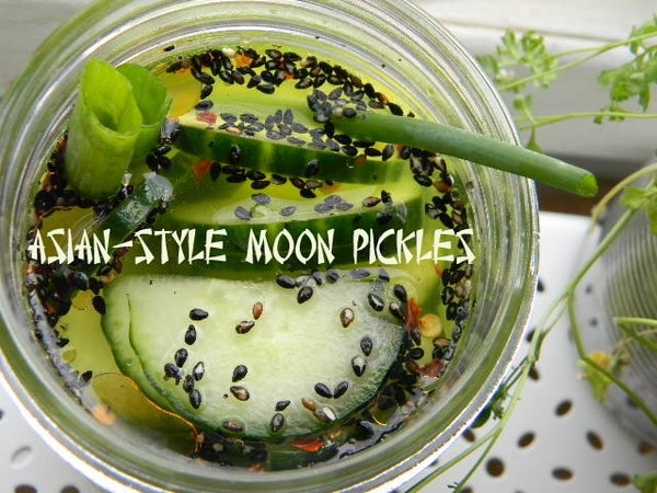 Asian-style Moon Pickles