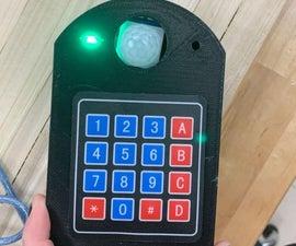 Security Keypad Lock