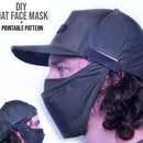 Detachable Face Mask for Hat