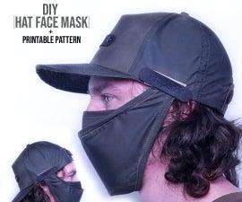 Detachable Face Mask for Hat