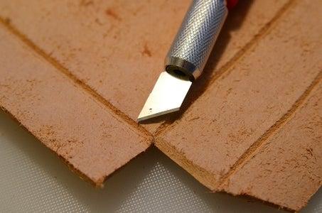 Cut Bevels on Side Edges