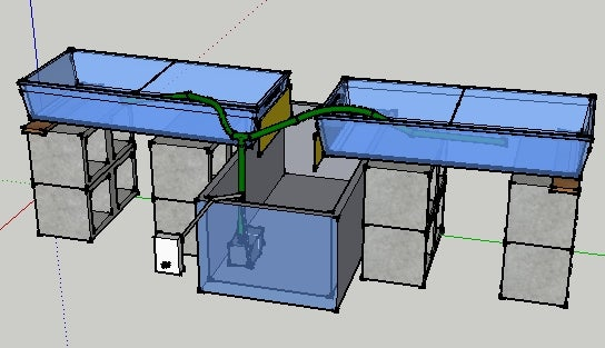Simple Ebb and Flow Hydroponic System
