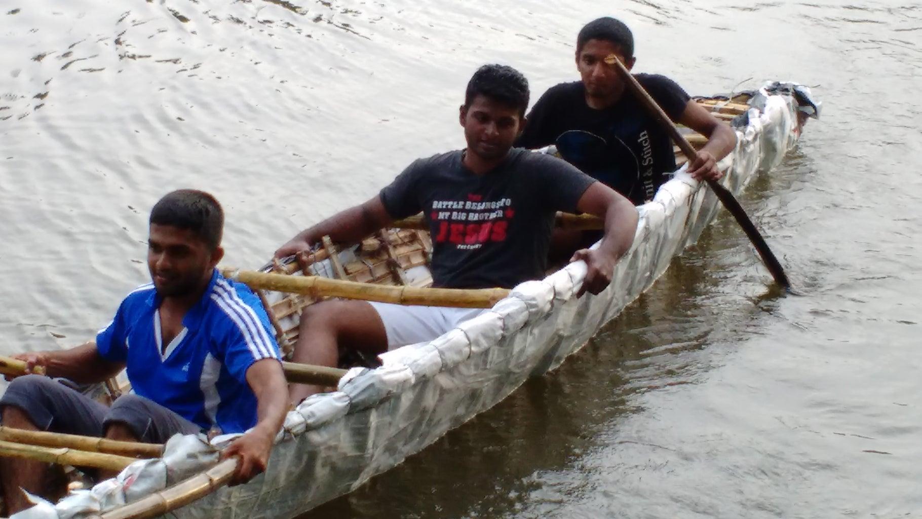 Bamboo Canoe