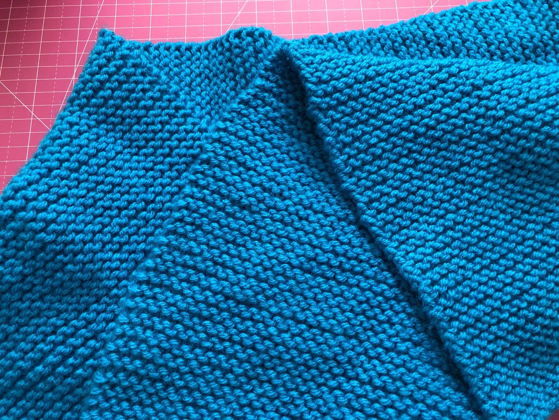 Knitting a Garter Stitch Scarf