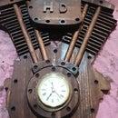 Harley Davidson Clock