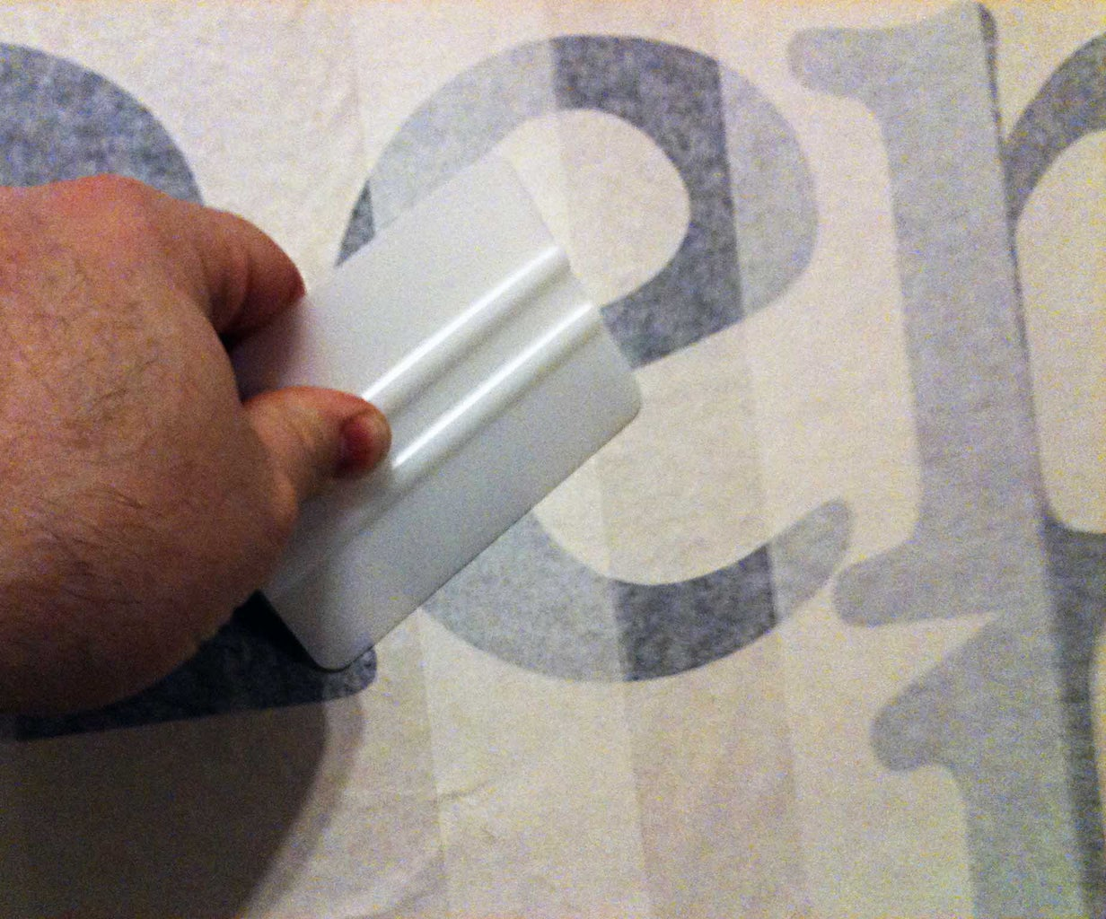 Applying the Design to the Target Surface