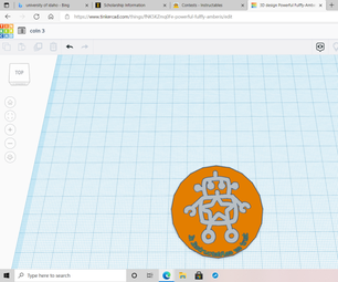 Coins in Tinkercad
