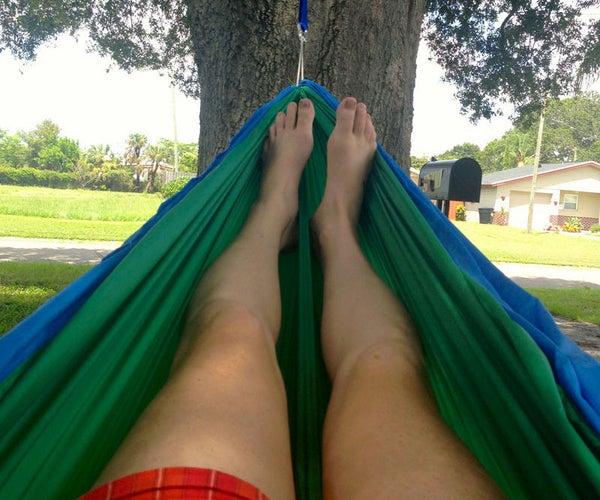 Eno Camping Hammock DIY Knock-Off