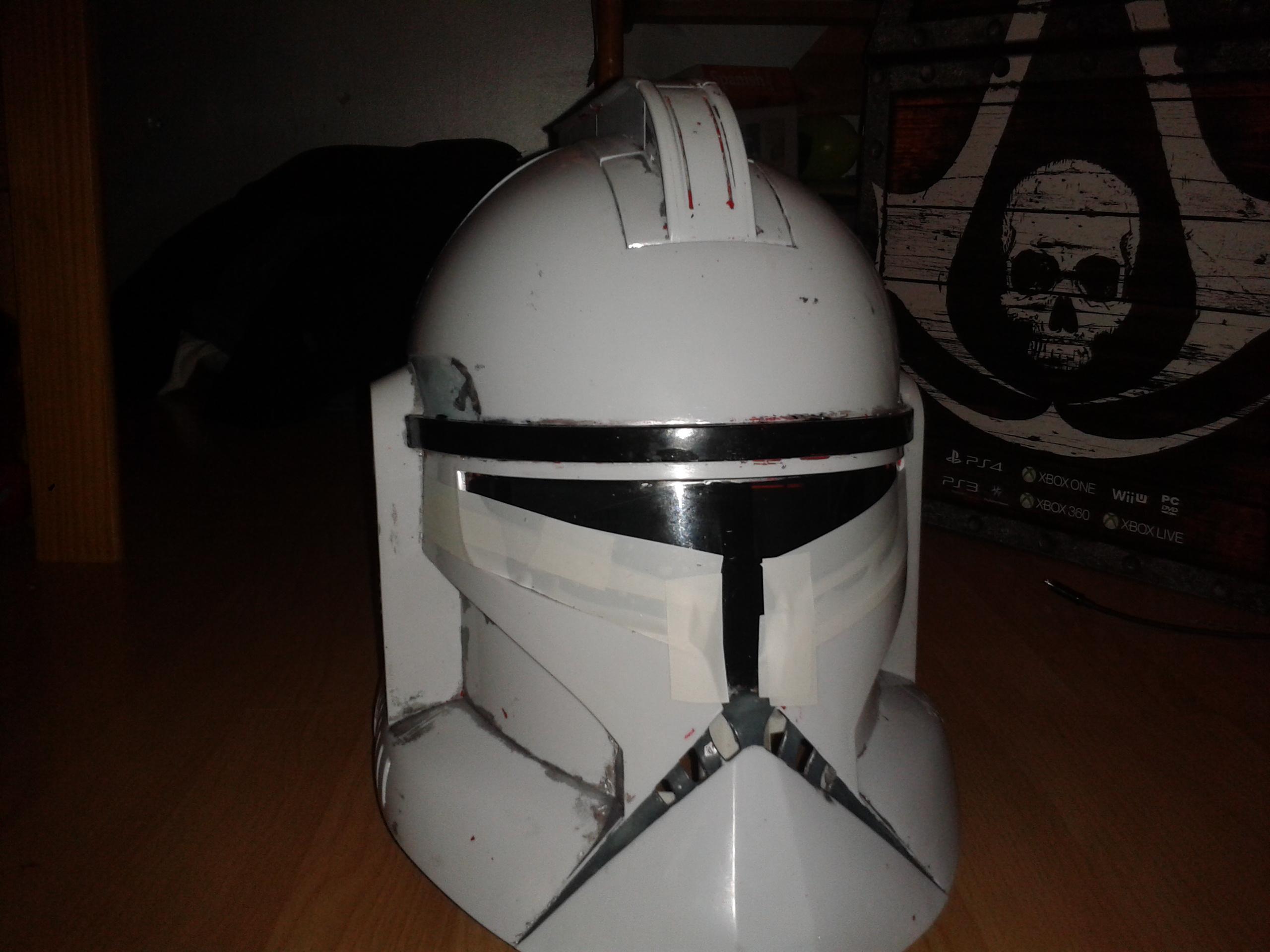Basic (white) Clone Trooper Cosplay