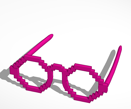 Minecraft Party Glasses