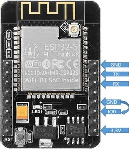 ESP32-CAM Building Your Own Robot Car With Live Video Streaming – USB-serial Adapter Wiring
