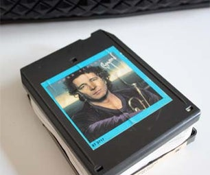 How to Make a 8 Track Wallet