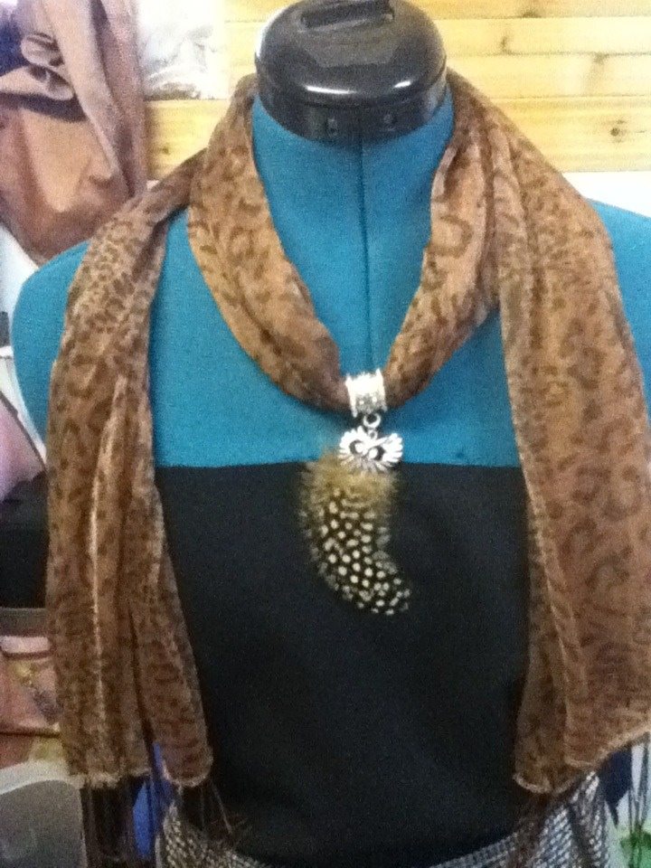Simple Scarf Jewelry