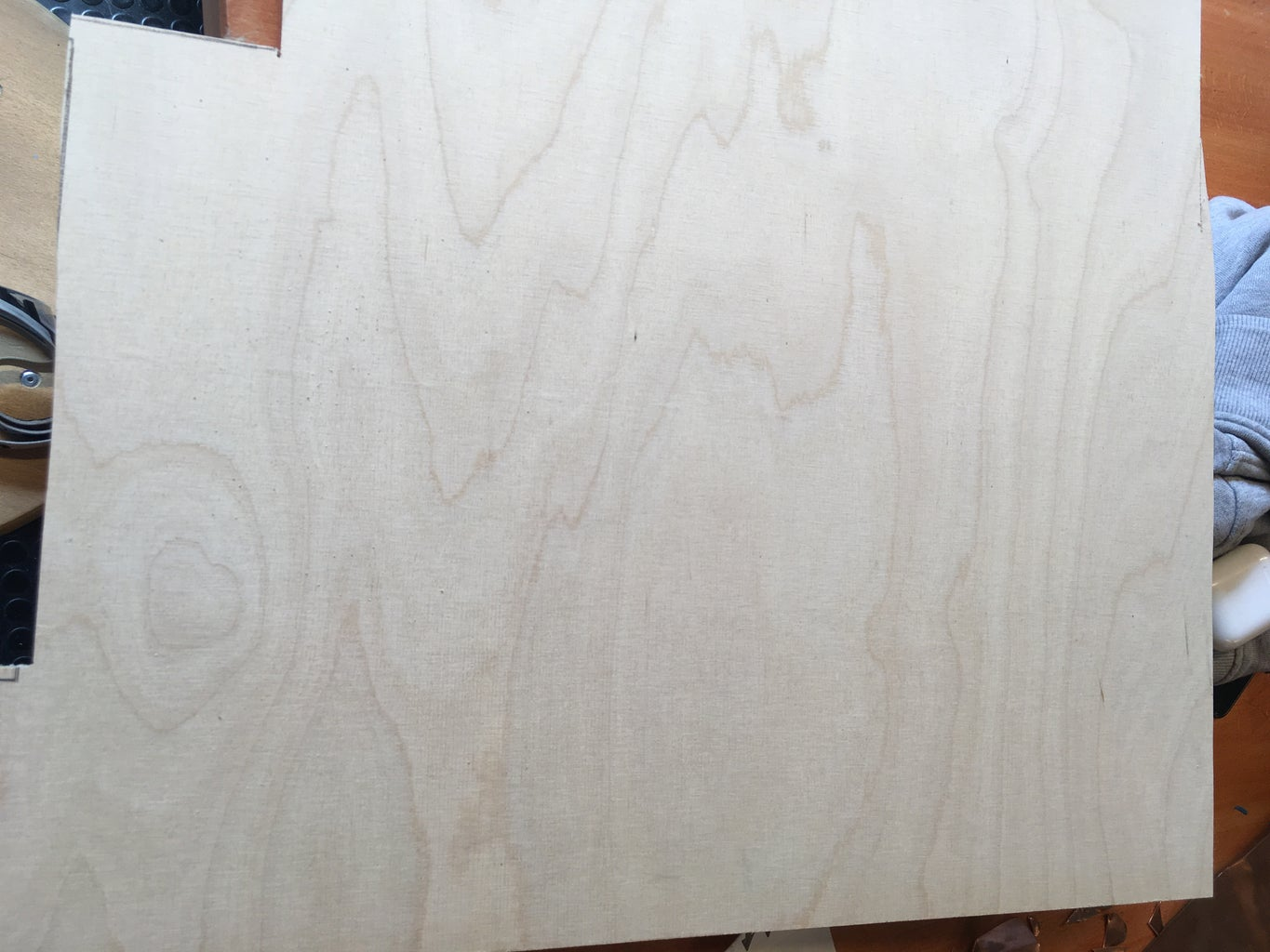 Outline & Cut the Wood
