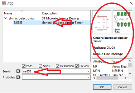 Adding Components to Schematic