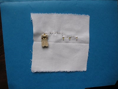 Knot and Cut Thread.