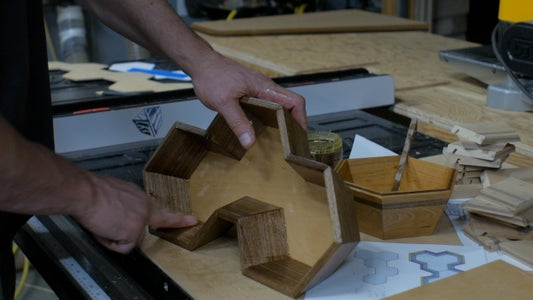 Assembly and Glue Up