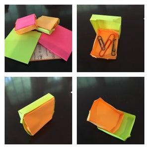 Sticky Note Boxes