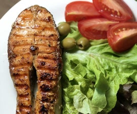 Salmon Vanilla Steak