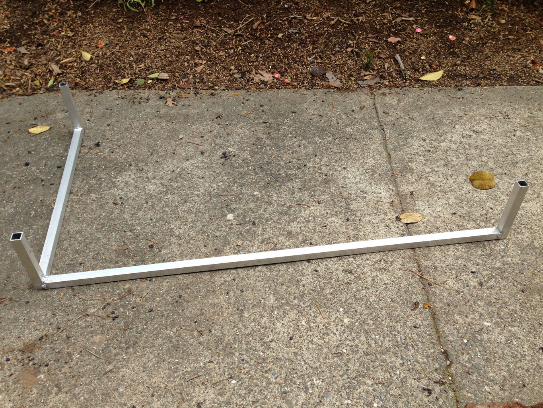 Step 2: the Aluminum Frame