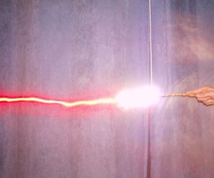 How to Make a Harry Potter Wand Effect With Light