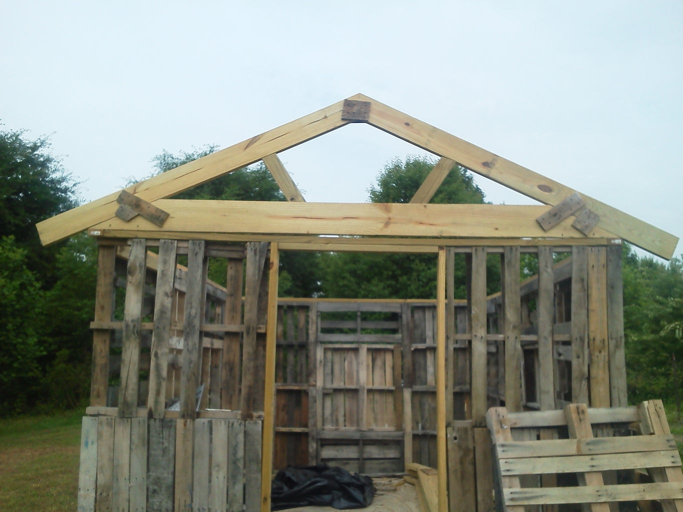Making and Installing the Trusses.