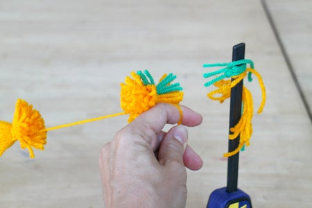 Cutting the Poms
