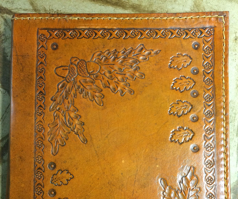 Leather Legal Pad Folder