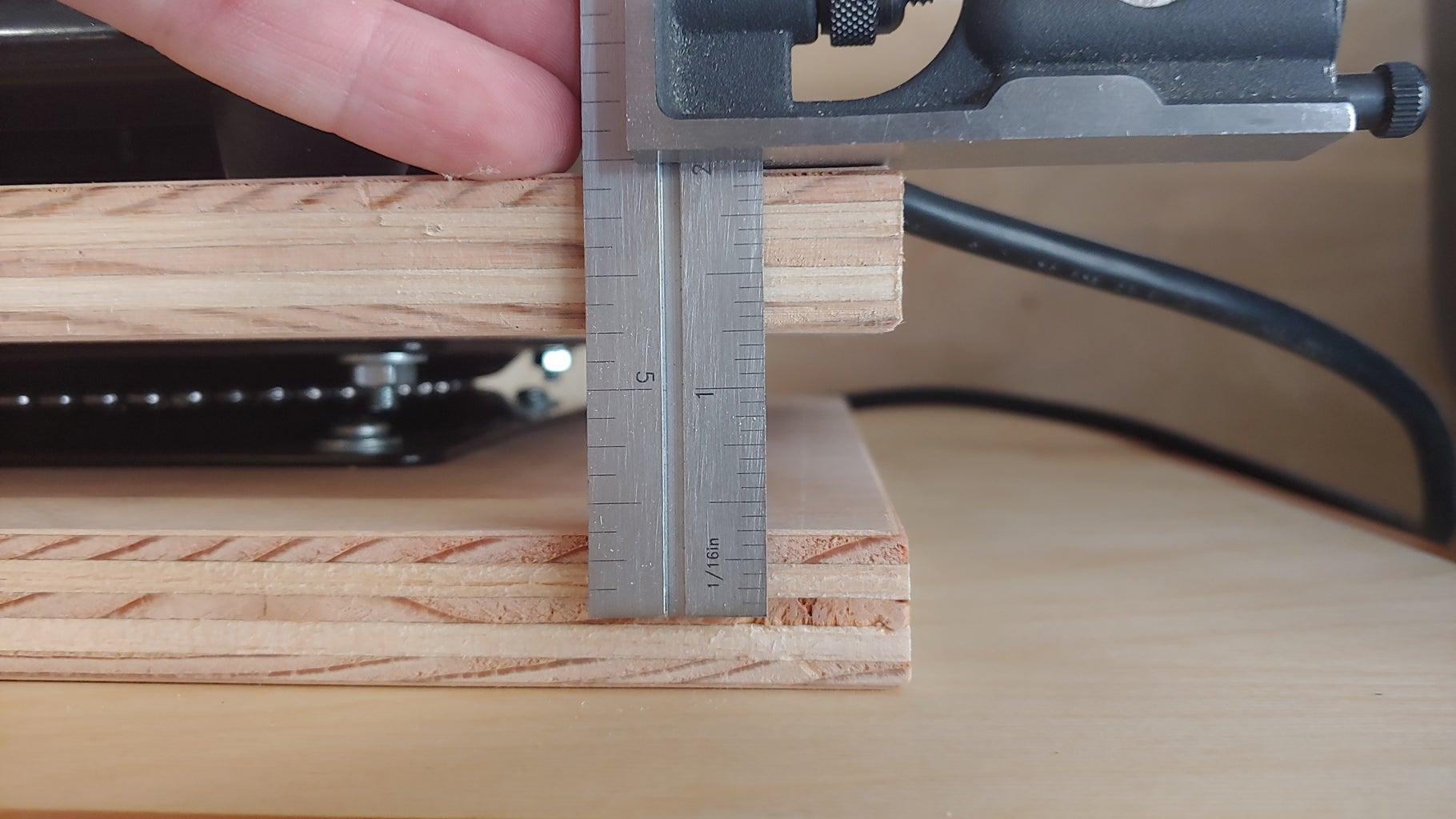 Step 5 (optional) : Make and Mount the Locking Peg