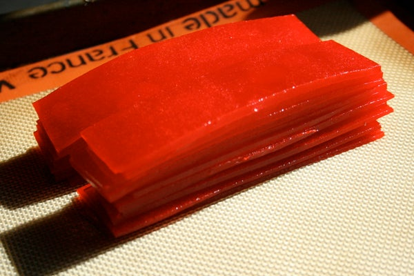 How to Make Gummy Red Carpet