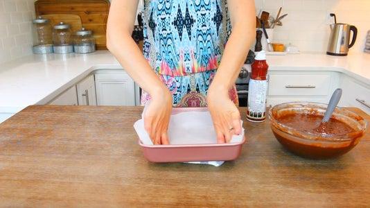 Prepare Baking Pan