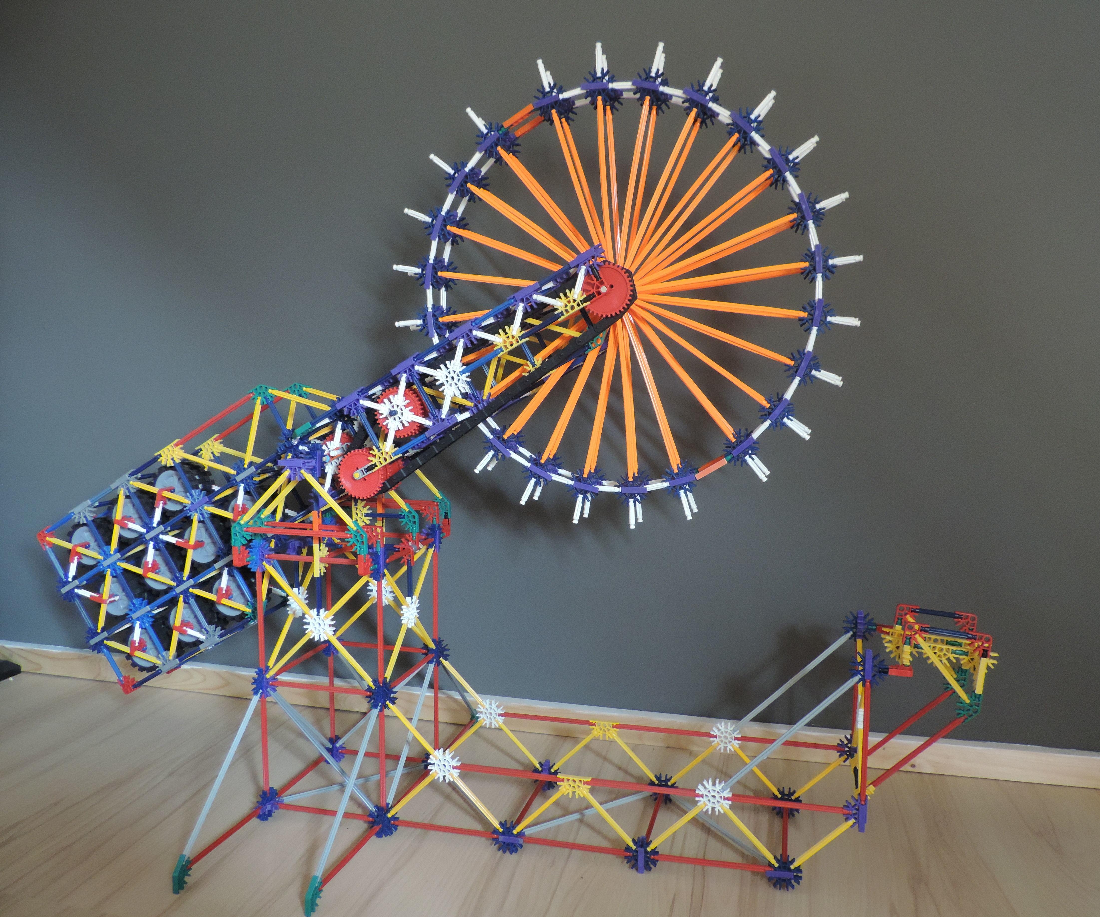 Knex Ball Machine Elelement: BuzzSaw