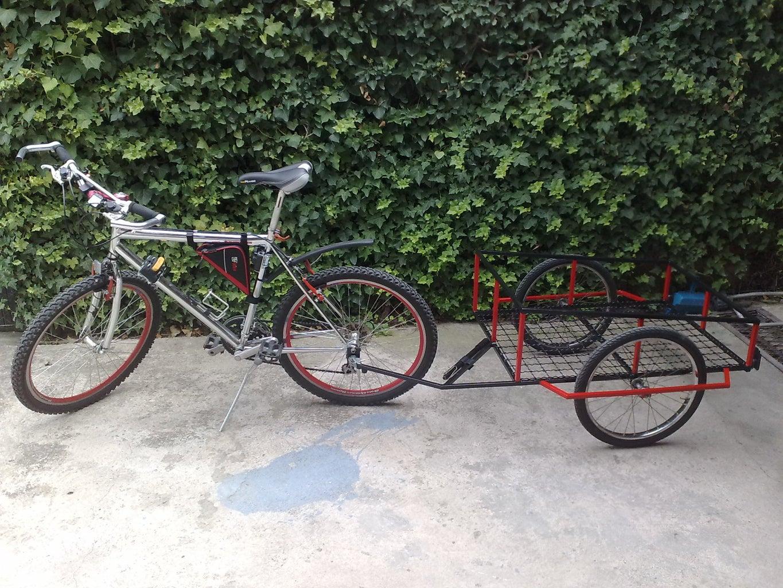 Welded Bike Trailer