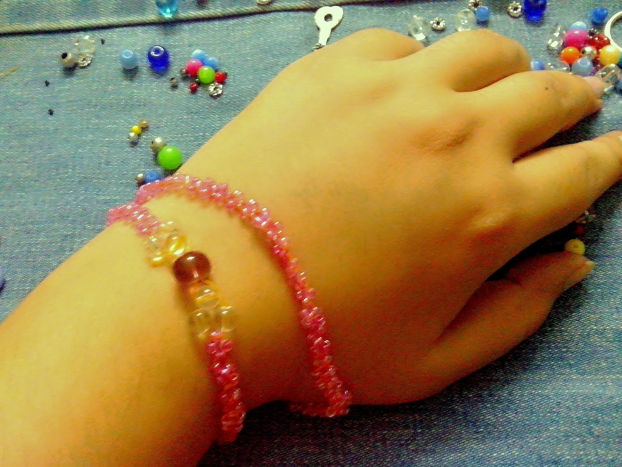 Beaded Princess Bracelet