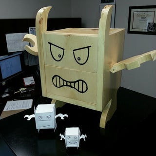 How to Make a MoodMonster for Your Desk