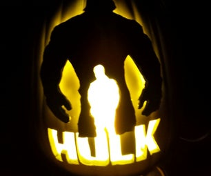 THE Incredible HULK PUMPKIN