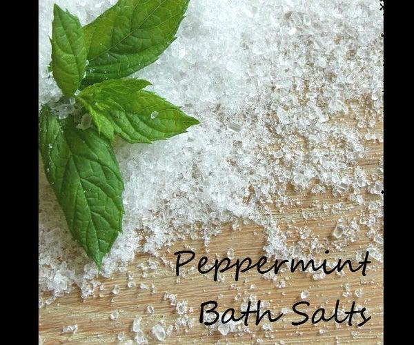 Peppermint Bath Salts!
