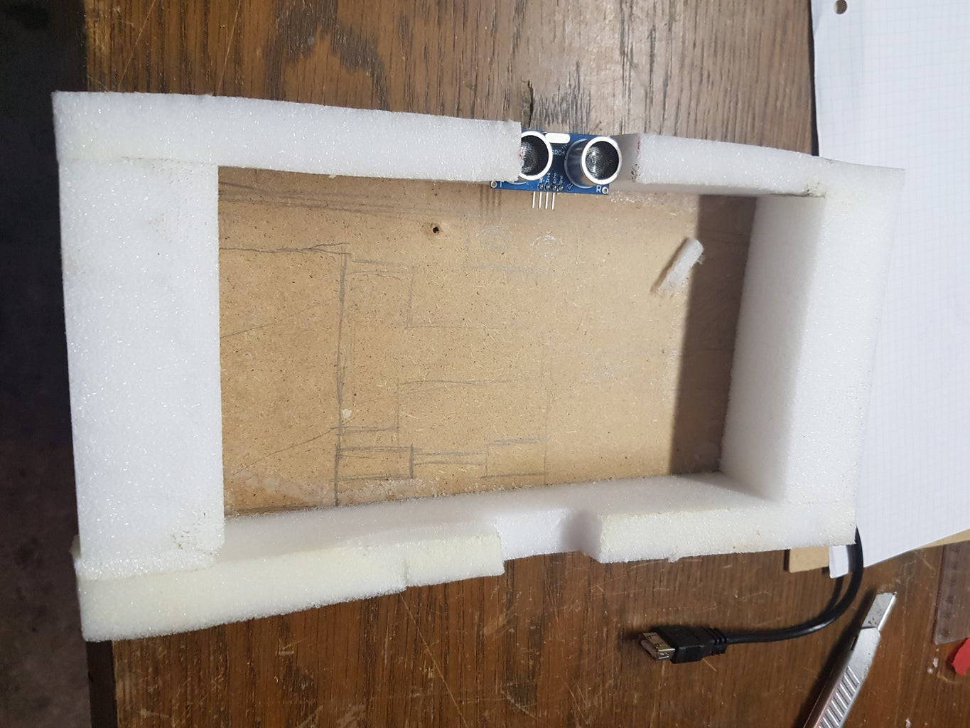 Build a Housing for the Electronics
