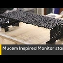 Mucem Inspired Monitor Stand
