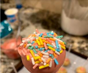 The Best Cake Pops Ever! From a Box of White Cake Mix!