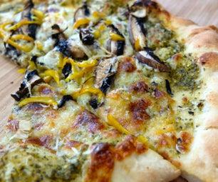 "Tomatillo ""Green Sauce"" Pizza"