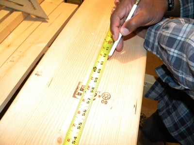 """Cutting 2"""" X 8"""" Boards to Length"""