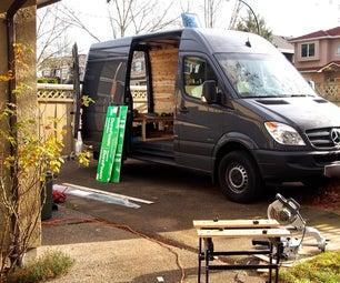 Storage Platform for the Back of Your Camper Van