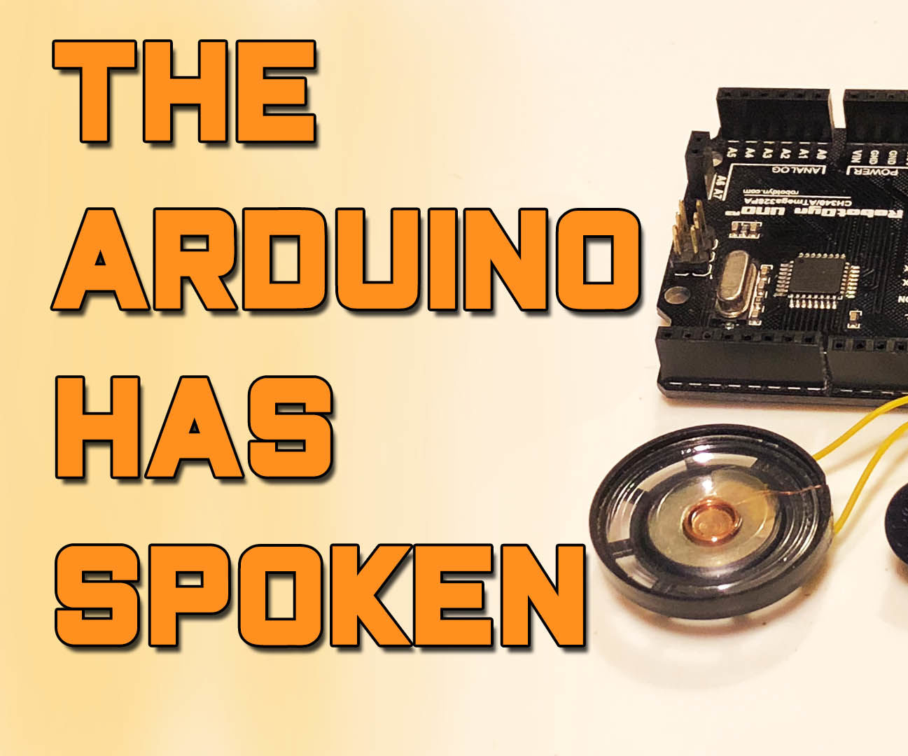 Arduino Bascis - Playing Sounds and Tones