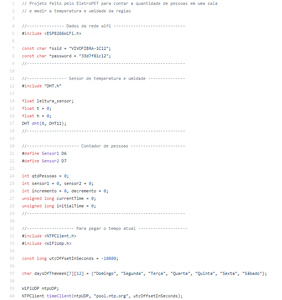 Software - Explanation of the Code