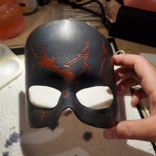Sculpted Leather Mask Tutorial