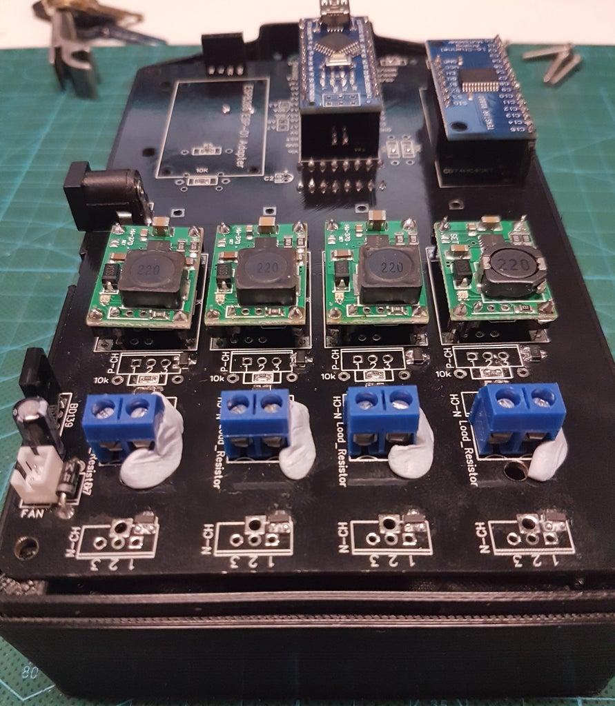 Mount the Discharge Resistors