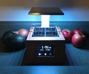 Smart Indoor Herb Garden