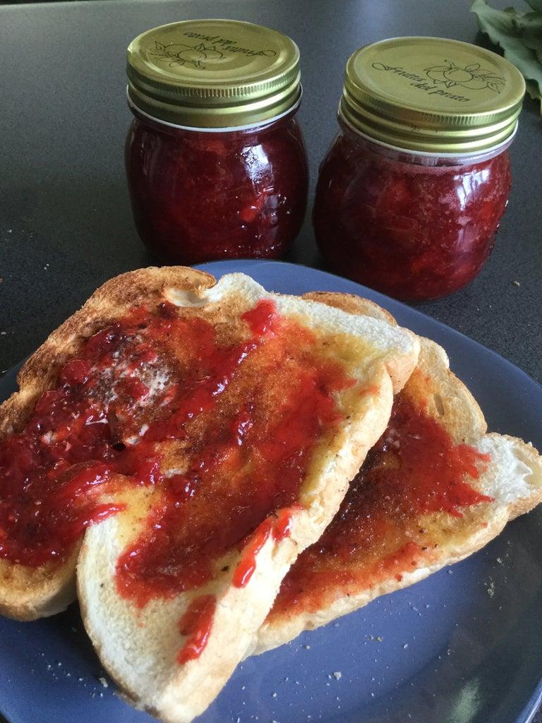 Grandma's Strawberry Jam & Sauce