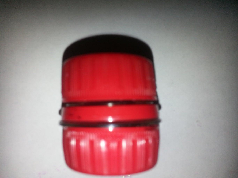 Soda Bottle Cap Container